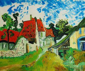 Vincent van Gogh Domy w Aures