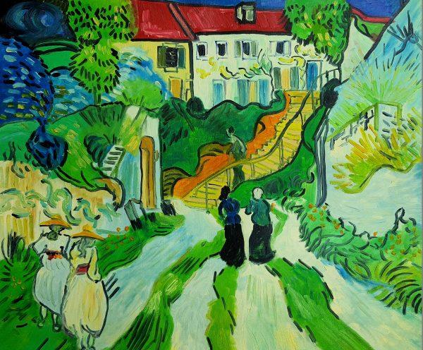 Vincent van Gogh Schody w Aures
