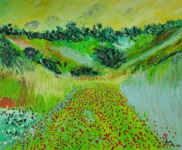 Claude Monet Pola Maków