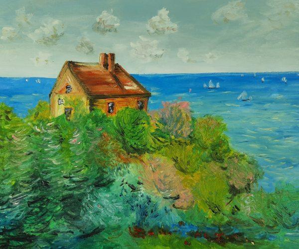 Claude Monet Chatka Celnika