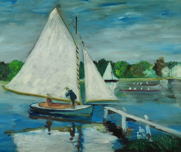 Claude Monet Regaty