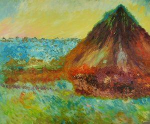 Claude Monet Stogi