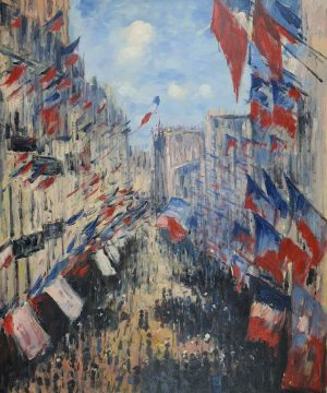 Claude Monet Ulica Staint Denis