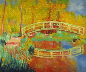 Claude Monet Mostek Japoński