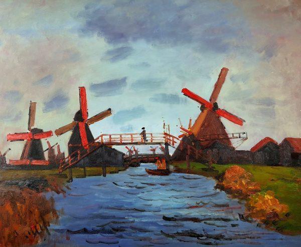 Claude Monet Pola tulipanów w Holandii