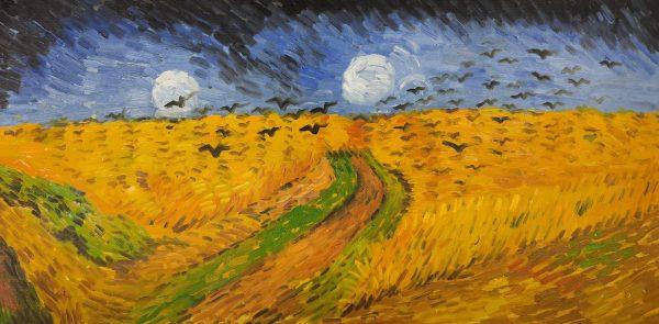 Vincent van Gogh Kruki nad polami