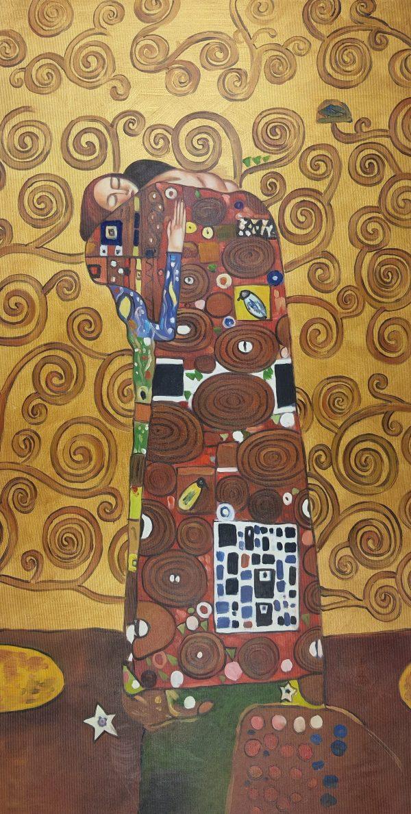 Gustav Klimt Spełnienie