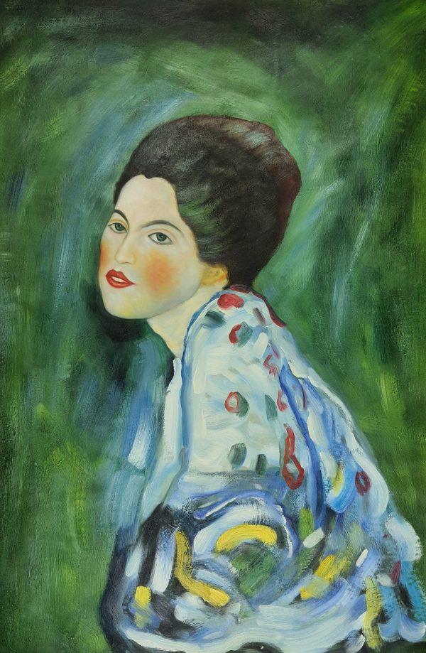 Gustaw Klimt Portret kobiety